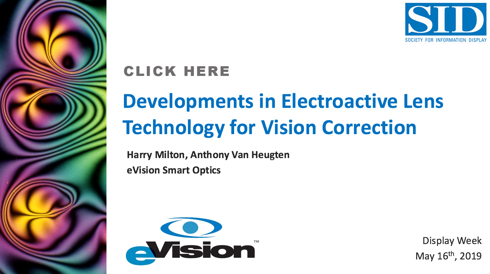 Electronic Eyeglasses and Electronic Contacts | eVision